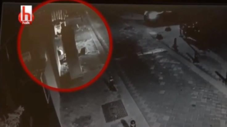 Barış Atay'a yönelik saldırıyla ilgili ilk görüntüler ortaya çıktı