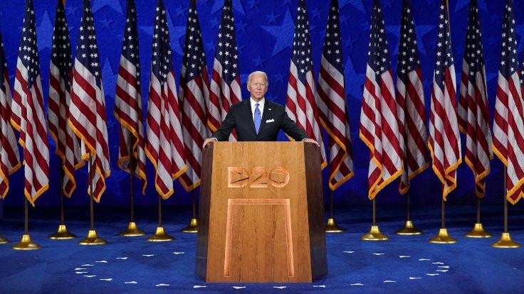 Joe Biden, adaylığı kabul etti