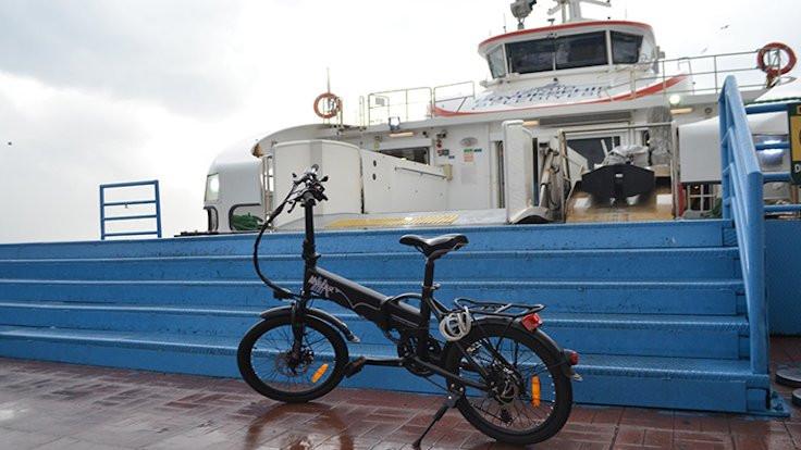 İzmir'de bisikletlilere gemiler 5 kuruş olacak