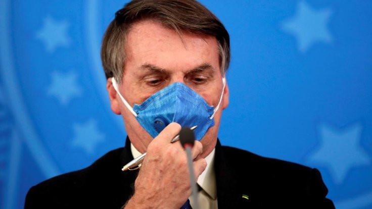 Bolsonaro: Yüzünü dağıtmak istiyorum