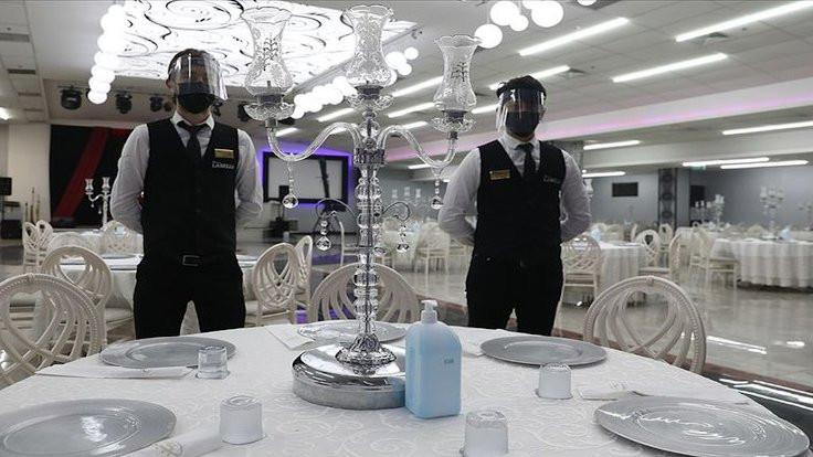 Düğün kararı: Yemek için bir saat süre tanındı