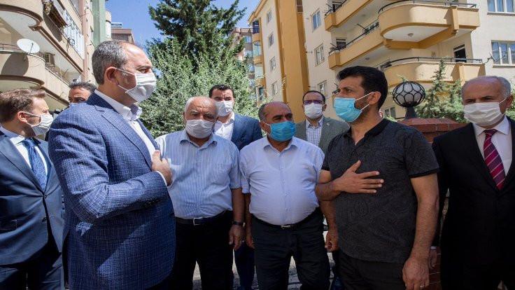 Bakan Gül'den Duygu Delen'in ailesine ziyaret