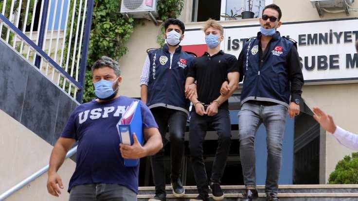 'Çakarlı' saldırgan tutuklandı