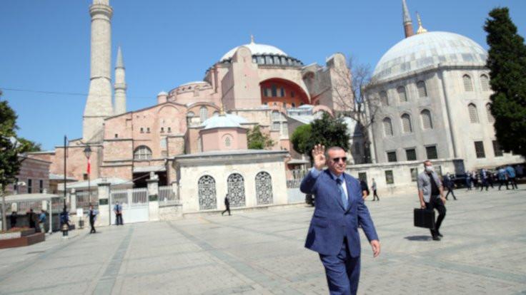 Ayasofya'da konuştu: Türkiye tırmanışta