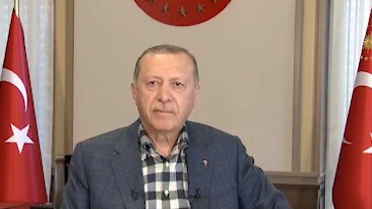 Erdoğan'a dudak ısırtan canlı yayın kazası