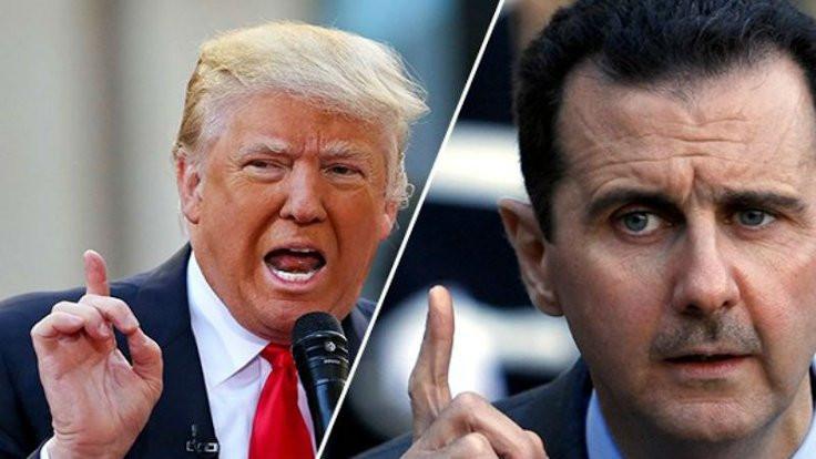 Trump'tan Esad'a yardım mektubu