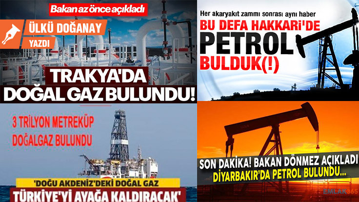 Müjde: Yolda para, Karadeniz'de doğal gaz bulmak