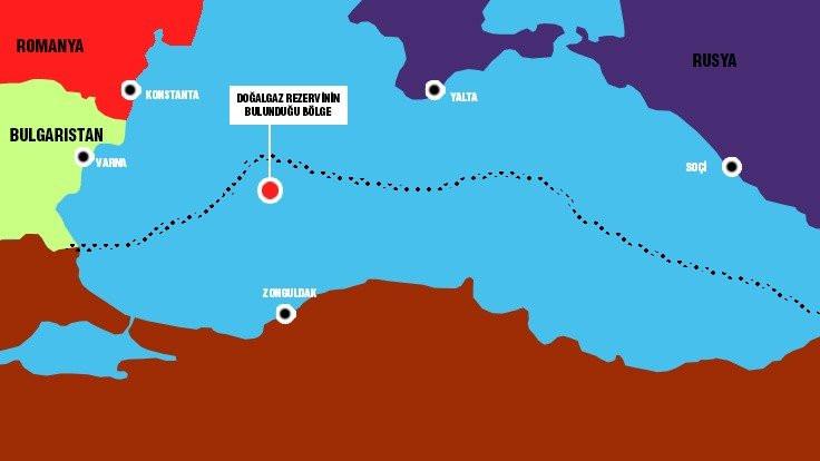 Tuna Deltası, Karadeniz Ereğlisi açıklarında