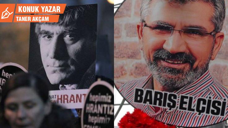 Ayasofya, yeni Cumhuriyet, Hrant Dink, Tahir Elçi
