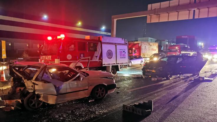 Zincirleme kaza: 3 kişi öldü