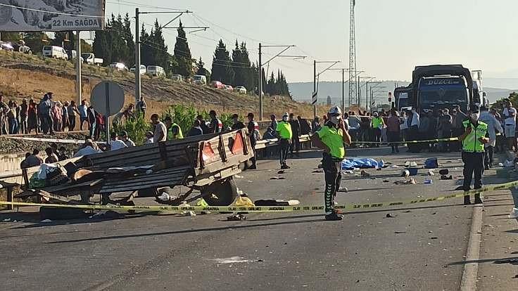 Manisa'da kaza: 3 işçi öldü