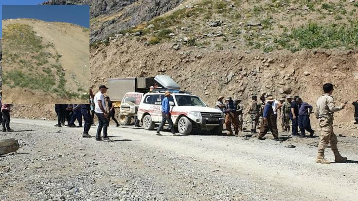 Hakkari'de araç uçuruma devrildi, 6 kişi öldü