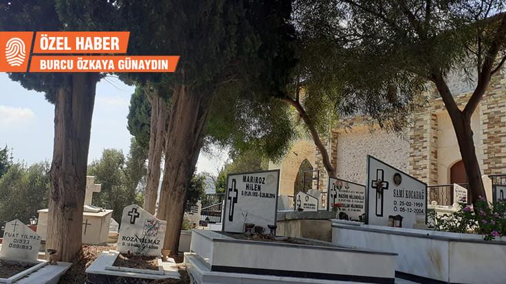 Rum-Ortodoks mezarlığını yeşil alan yaptılar
