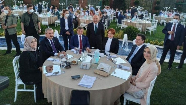 Akşener, Davutoğlu, Babacan ve Destici düğünde buluştu