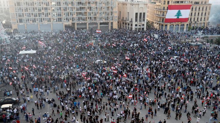 Beyrut'ta 'Öfke Günü' protestoları: 1 ölü, 238 yaralı
