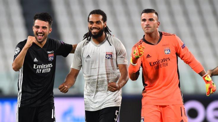 Lyon Juventus'u, City Madrid'i eledi