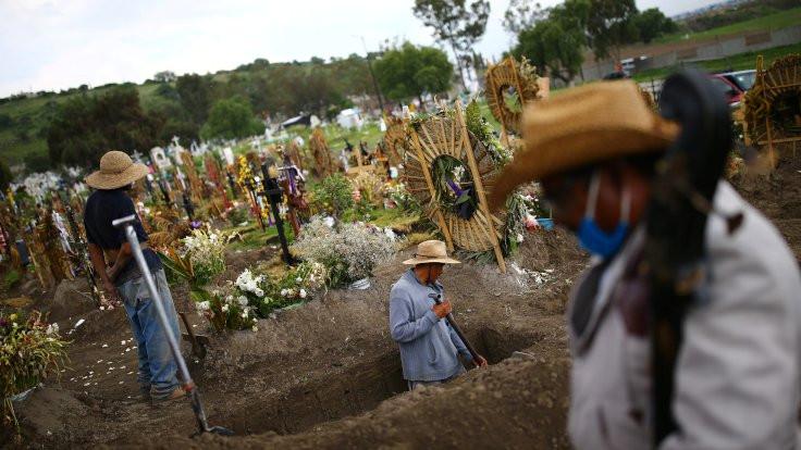 Meksika ölü sayısında üçüncü ülke oldu