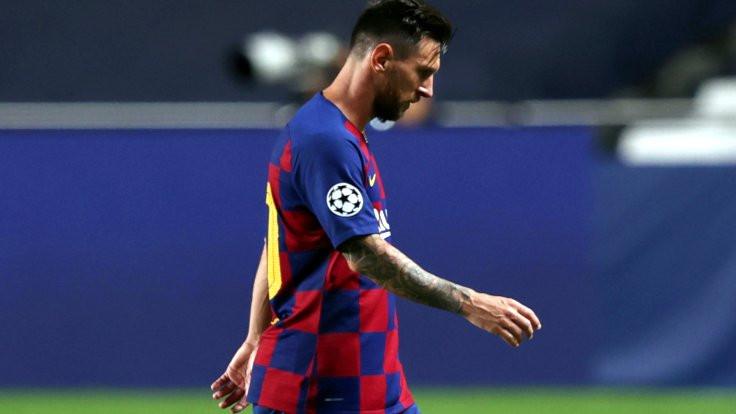 Messi'den bir ayrılık işareti daha