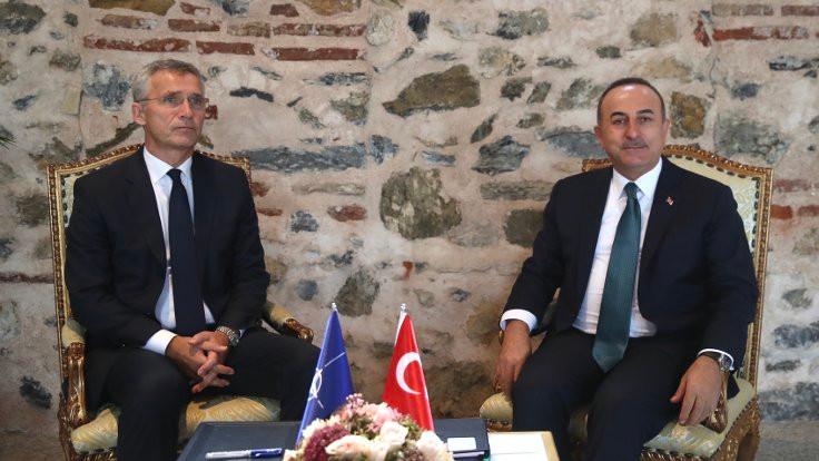 Çavuşoğlu ve Stoltenberg, Doğu Akdeniz'i görüştü