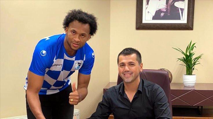 Erzurumspor'un yeni transferi Covid-19'a yakalandı