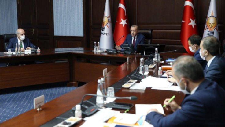 Sözleşme görüşülecekti: AK Parti MYK ertelendi