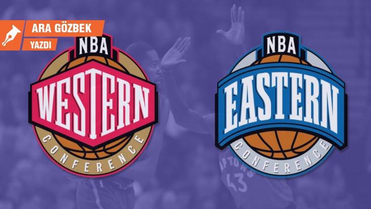 NBA'de mevcut fark: Doğu ve Batı