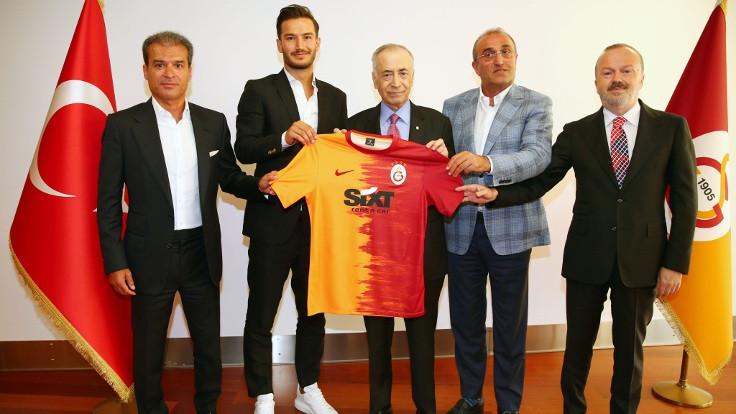 Galatasaray, Oğulcan Çağlayan'ı kadrosuna kattı