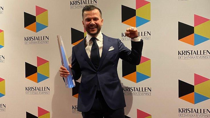 İsveç'in en önemli televizyon ödülü Kürt oyuncuya verildi
