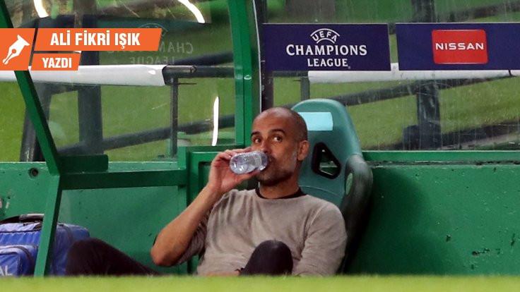 Guardiola tuhaf ve anlaşılmazdı