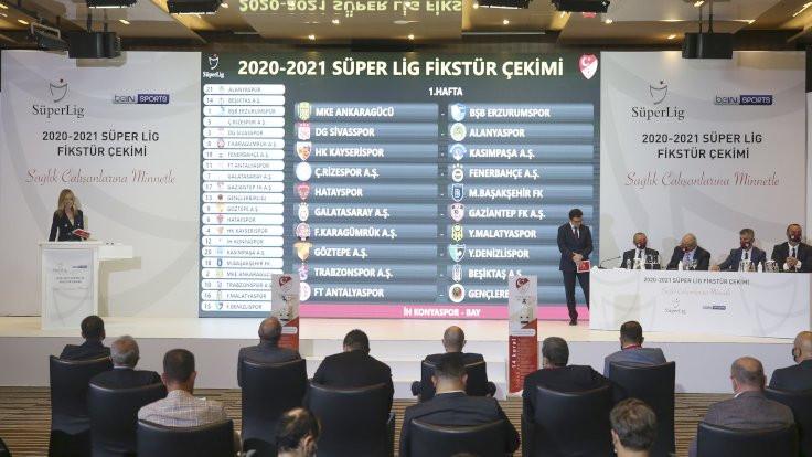 Süper Lig fikstürü çekildi: İlk hafta Trabzonspor, Beşiktaş'ı konuk edecek
