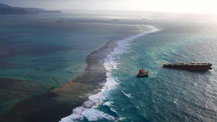 Tonlarca petrol sızdıran geminin kaptanı tutuklandı