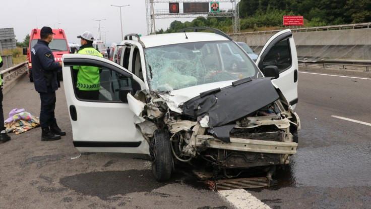 Bayramda trafik kazaları: 10 kişi öldü, 154 kişi yaralandı