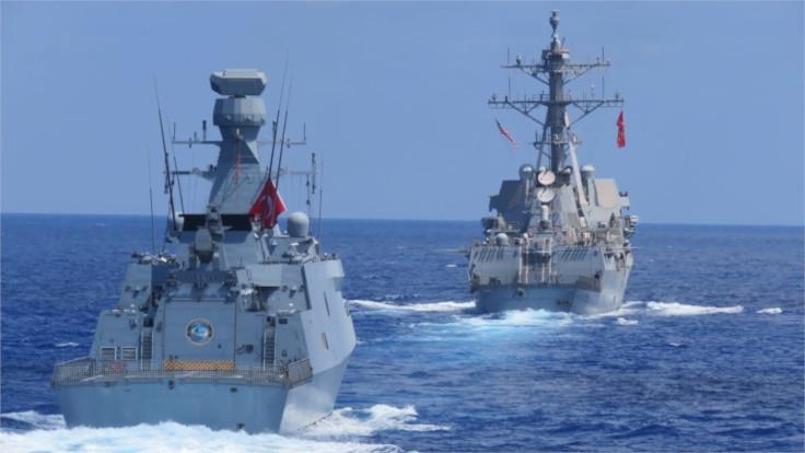 MSB: ABD ile Doğu Akdeniz'de deniz eğitimleri yapıldı