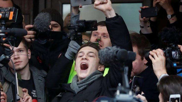 Kremlin karşıtı aktivist saldırıya uğradı