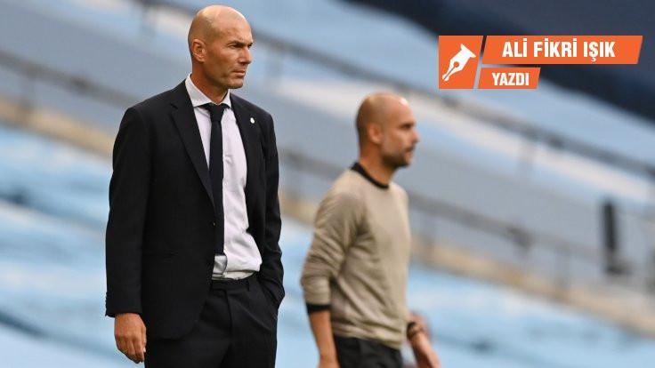 Zidane tıpkı Guardiola gibi düşünmüş