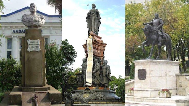 Kafkasya'nın istenmeyen Rus anıtları
