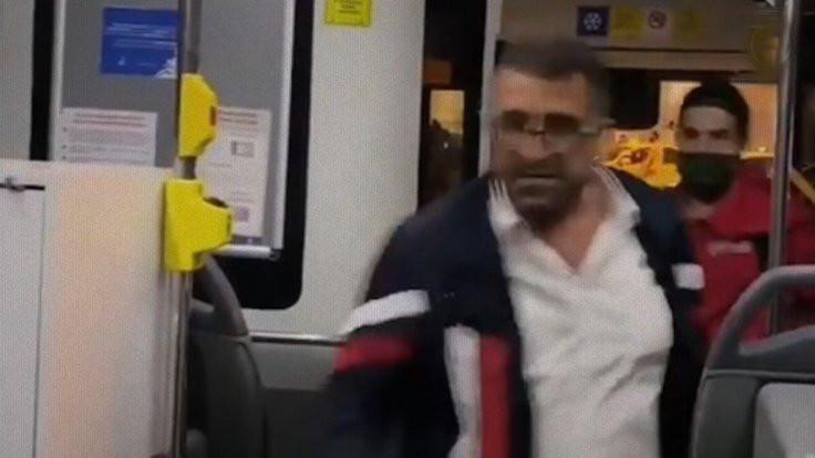 Otobüs şoförü kadın yolcuya saldırdı