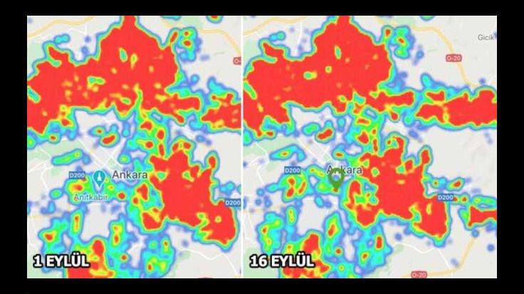 Koronada patlama haritalarda: 15 günde değişti