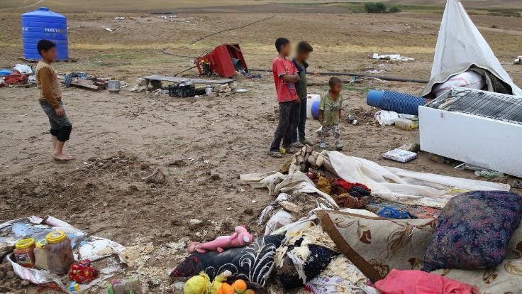 CHP Polatlı'da: İnsanlar canını zor kurtarmış