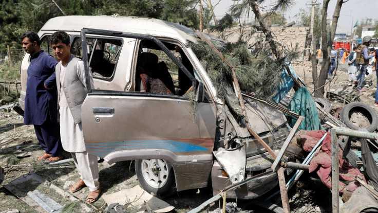 Afganistan'da başkan yardımcısına saldırı