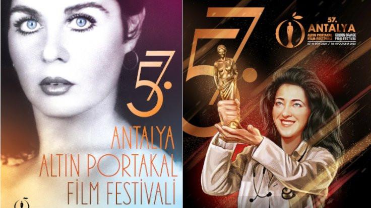 57. Antalya Altın Portakal Film Festivali'nin iki afişi olacak