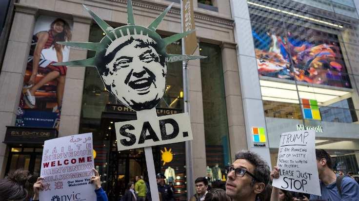 New York 'anarşist bölge' ilan edildi