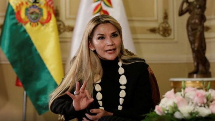 Morales'in yerine geçen Anez seçimlerden çekildi