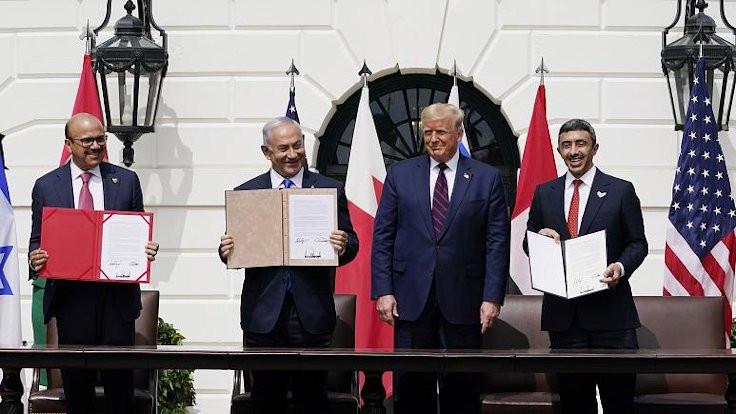 İsrail'le normalleşme imzaları ABD'de atıldı