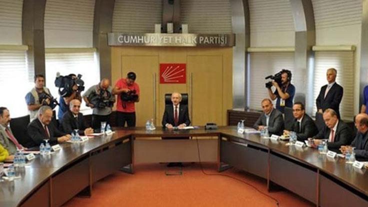 CHP'de yüz yüze toplantılar ertelendi