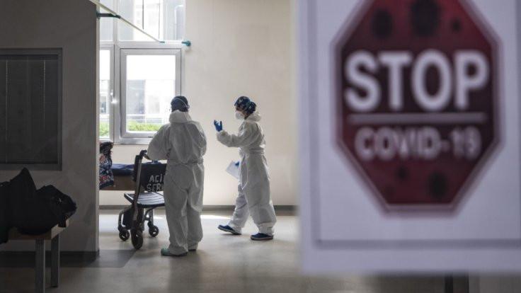 Covid-19 hastasıyemek verdi, köy karantinada