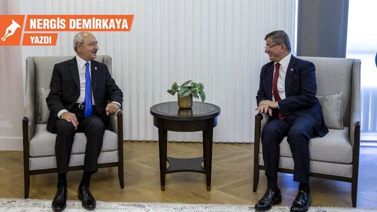 Kılıçdaroğlu ve Davutoğlu ne konuştu?
