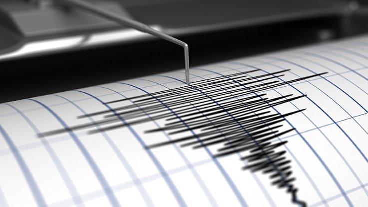 Girit yakınlarında 5,7'lik deprem