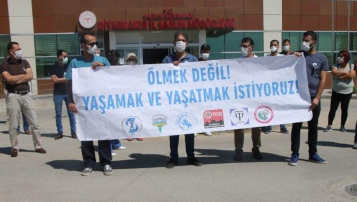 Diyarbakır'da yedi sağlıkçı öldü
