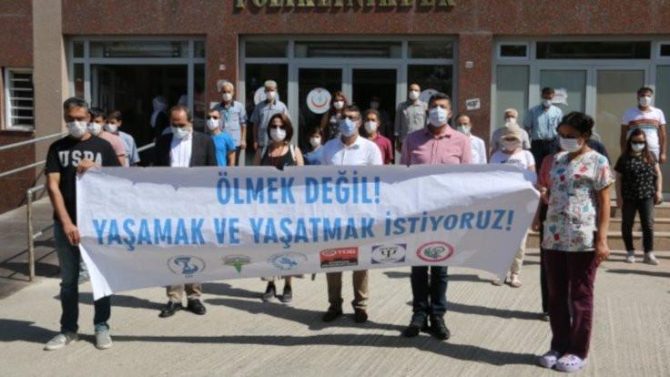 Diyarbakır'da salgında 10 sağlıkçı öldü